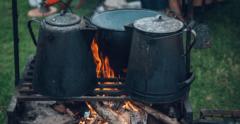camping menu