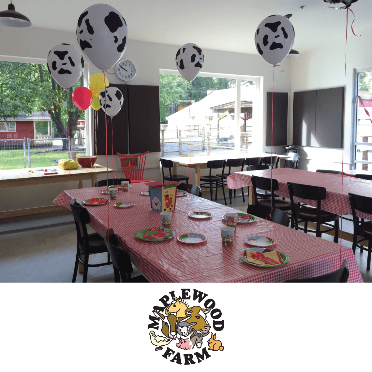 indoor birthday party