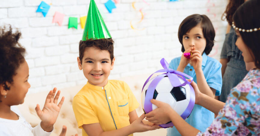 Active Kids Birthday Party Ideas