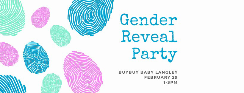 Langley Events - Gender Reveal Party