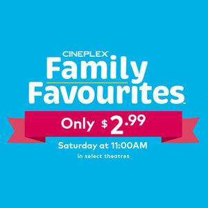 Low Cost Movies Cineplex Family Favourites