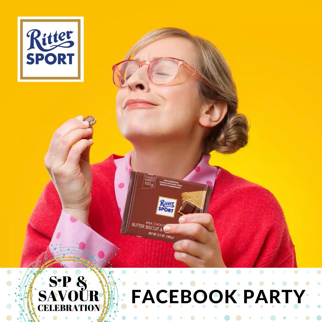 Sip & savour Facebook Party